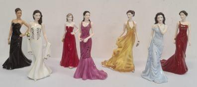 Royal Doulton figures Pretty Ladies 'Gemma', 298/500, 'Alicia'HN5448, 'Hayley', 'Victoria', '