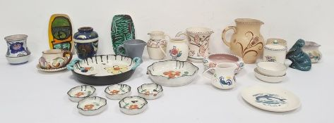 Quantity of Poole pottery,various patterns and other 20th century ceramics