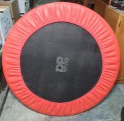 A child's small trampoline