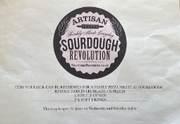 Family Pizza Night Voucher at Sourdough Revolution