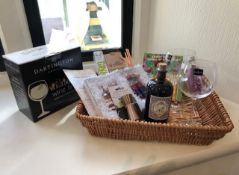 Lockdown Lifesaver Gin Hamper - Raspberry Rose Gin Fizz