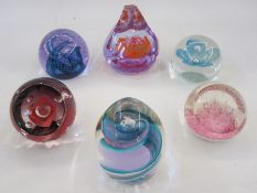 Caithness limited edition paperweight 'Sword Dance', two other Caithness paperweights 'Morning
