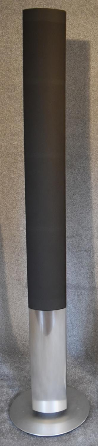 Lot 4 - A pair of Bang and Olufsen BeoLab 1 speakers. H.185 x 39cm
