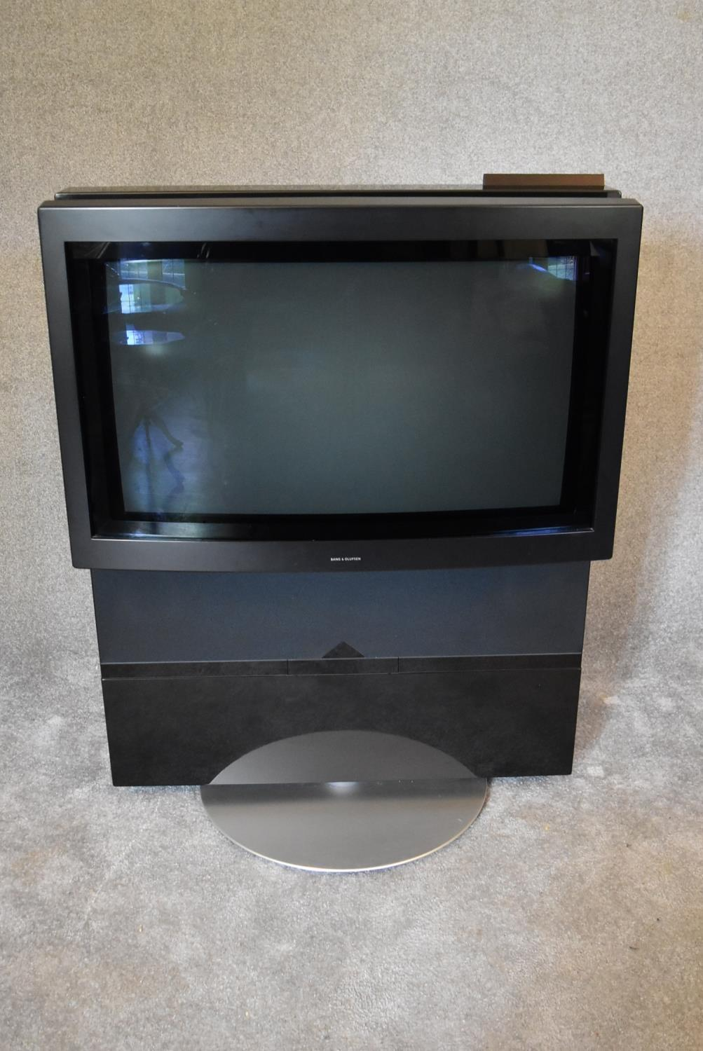 Lot 5 - A Bang and Olufsen BeoVision Avant, CRT television and VHS recorder/player. 35? screen. Television