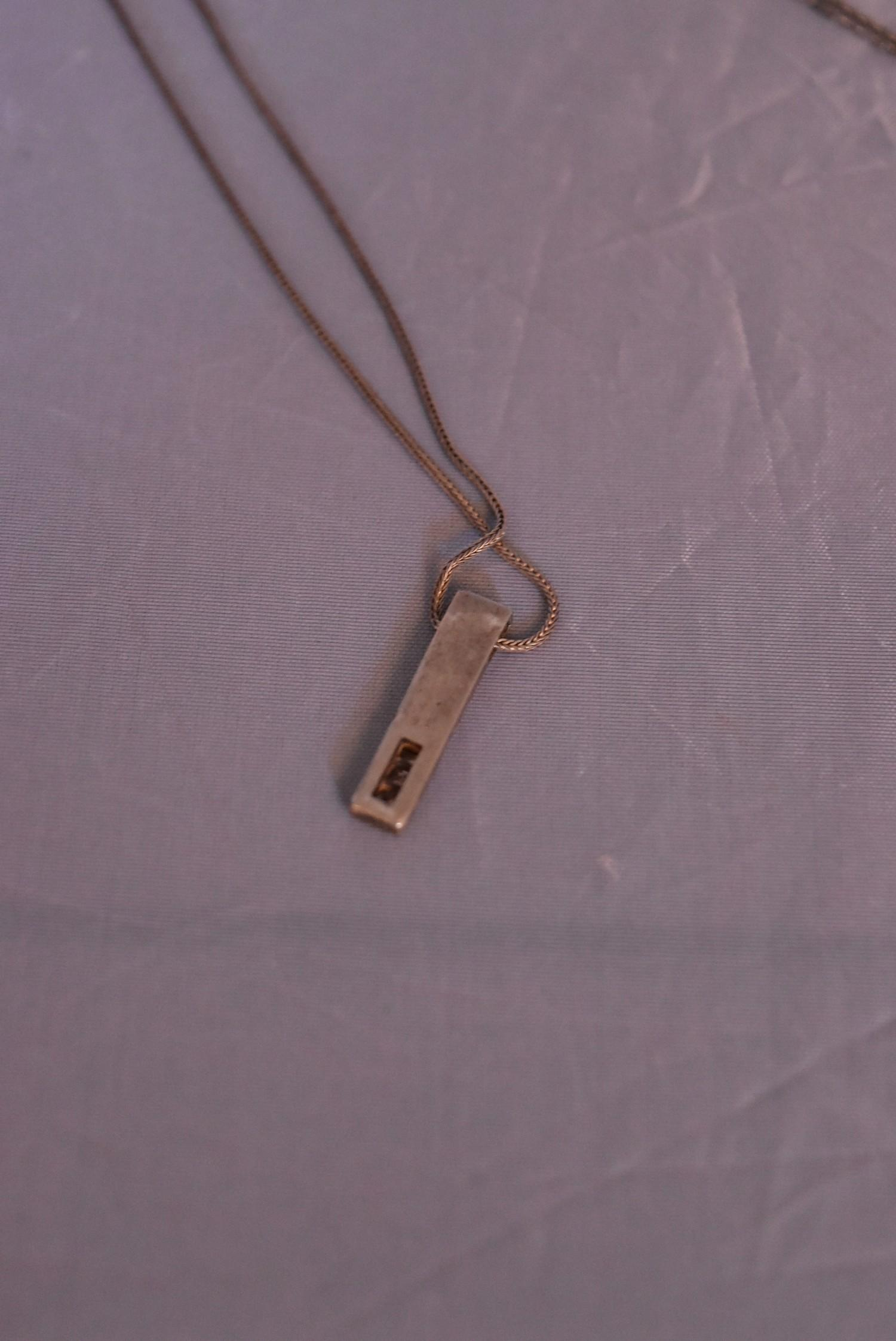 A collection of contemporary silver jewellery. Including a pair of silver and black enamel - Image 5 of 9