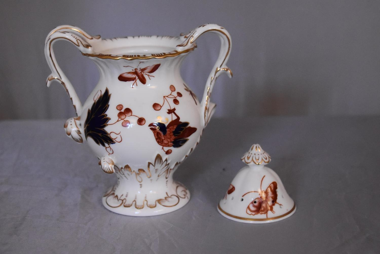 A collection of hand painted porcelain and ceramics. One Herend Ash tray with floral design and - Image 4 of 8