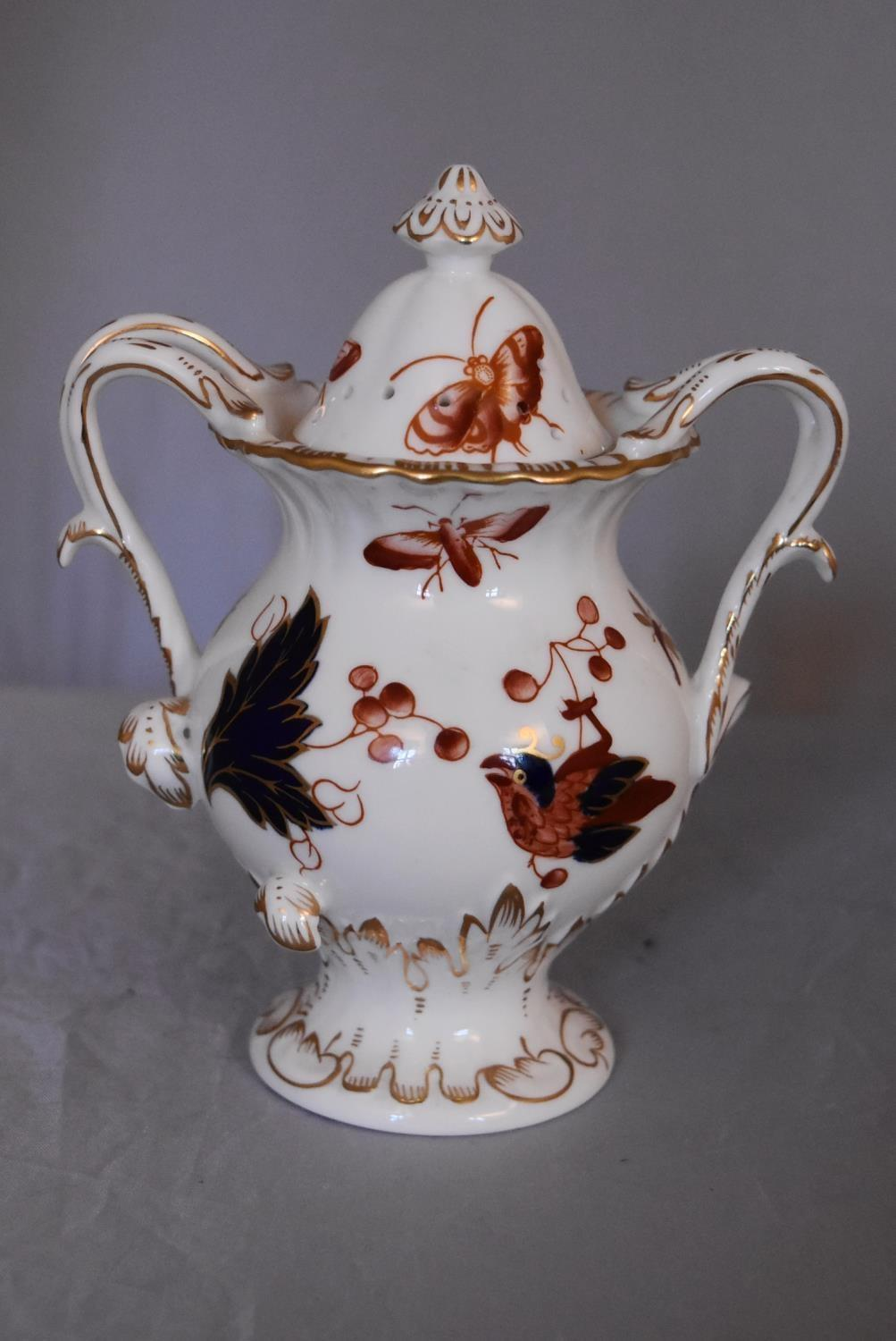A collection of hand painted porcelain and ceramics. One Herend Ash tray with floral design and - Image 5 of 8