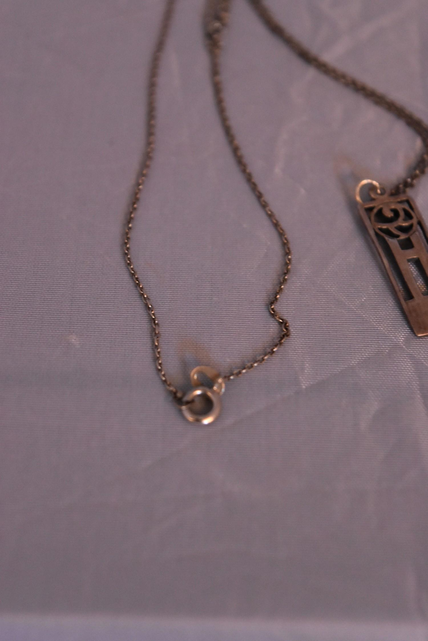 A collection of contemporary silver jewellery. Including a pair of silver and black enamel - Image 9 of 9