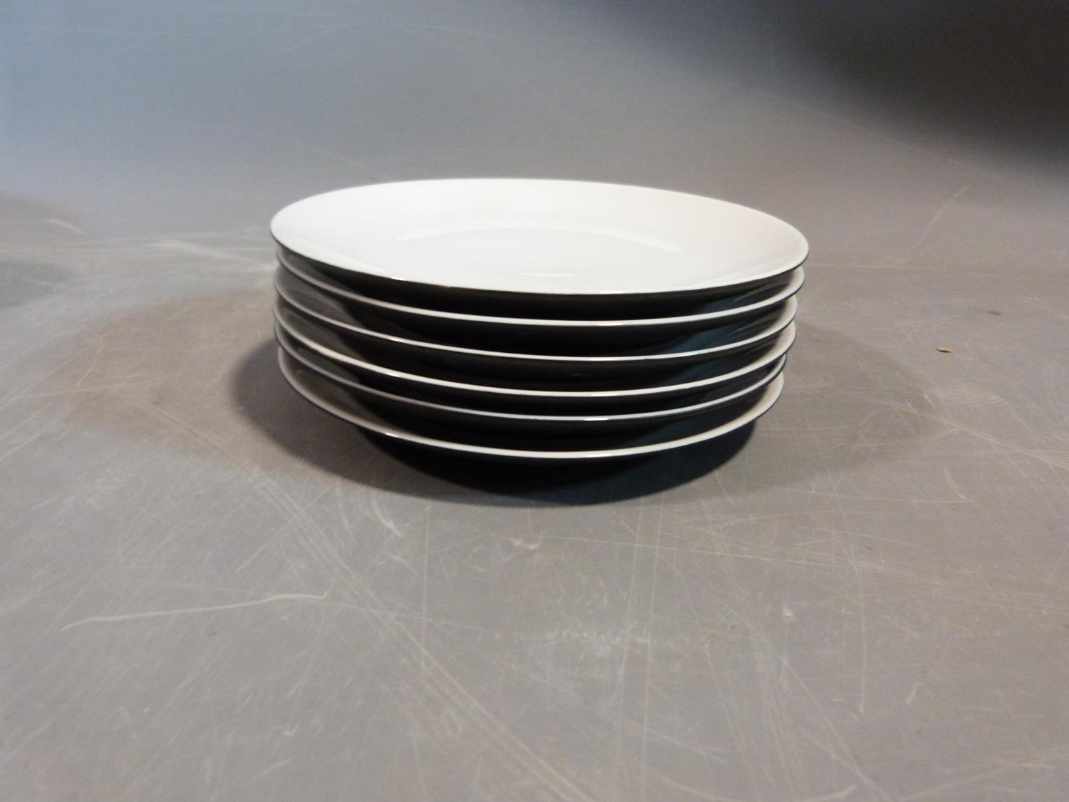 A Raymond Loewy 'Charcoal' Continental tea service. Tallest H12cm. - Image 12 of 12