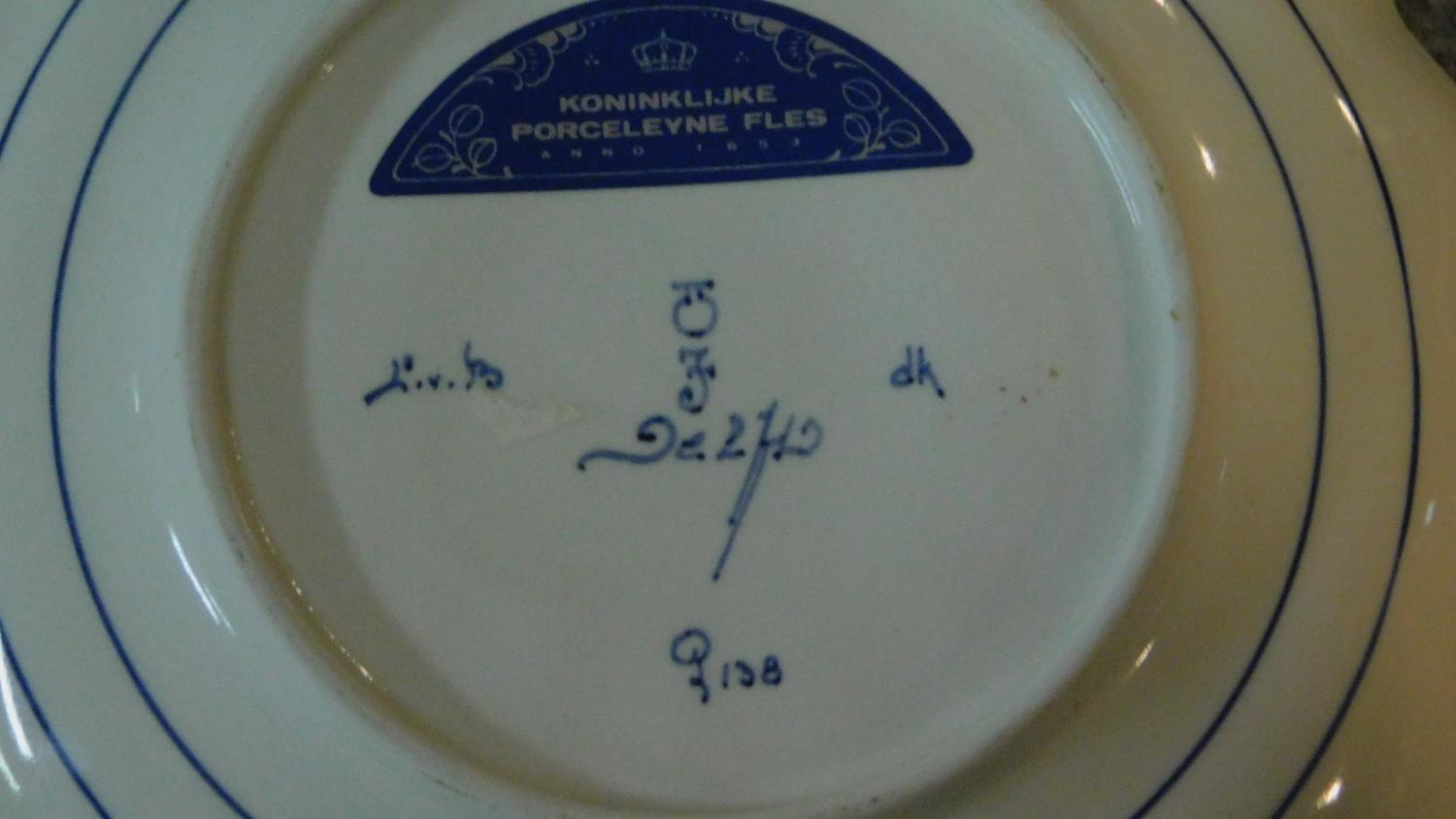 A collection of ceramics. Including a pair of pink transferware salts with a portrait of a man and a - Image 8 of 8
