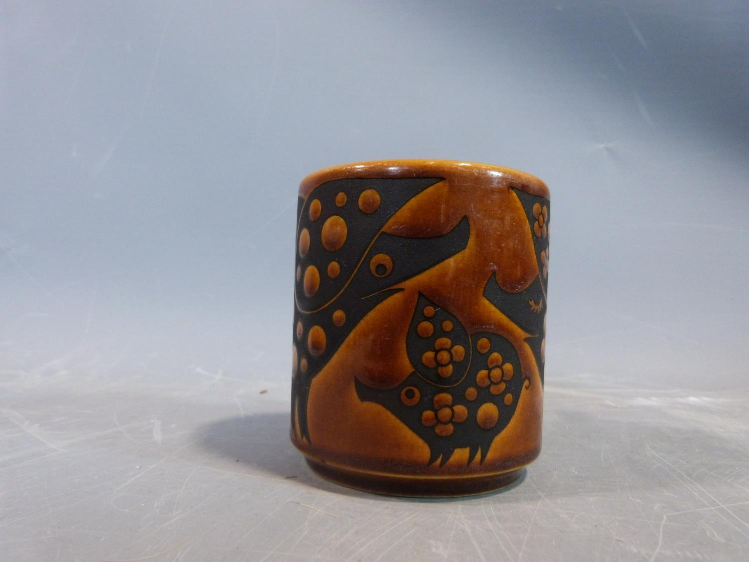 A collection of 1970's Hornsea mugs designed by John Clappison, a studio pottery vase and three - Image 8 of 22