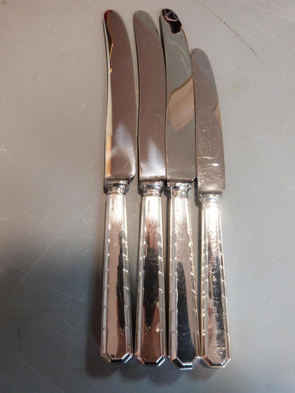 Five rolls of silver plated cutlery. Belvedere design by CJ Vander Ltd. Includes 18 cake forks, 18 - Image 6 of 6