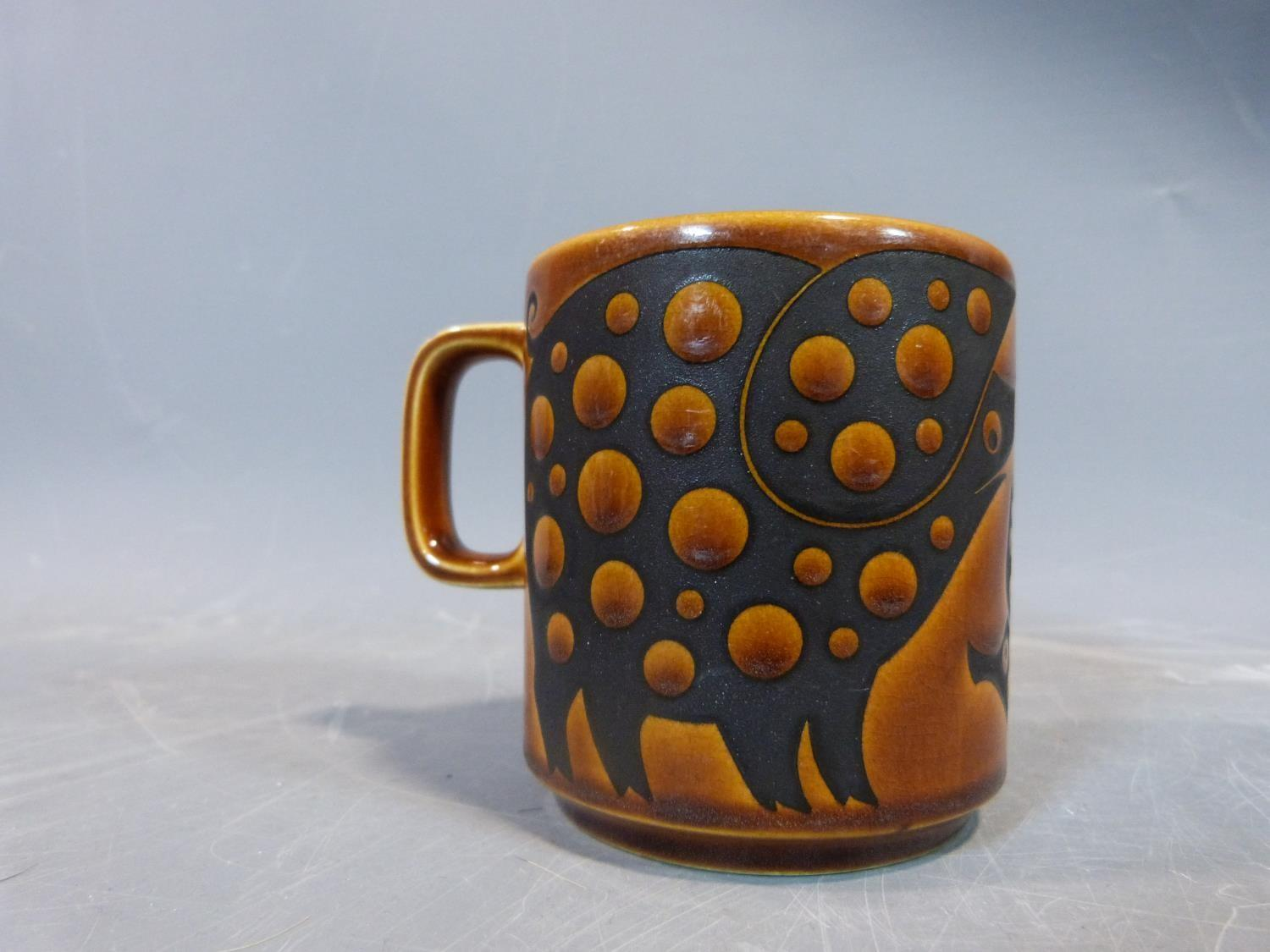 A collection of 1970's Hornsea mugs designed by John Clappison, a studio pottery vase and three - Image 7 of 22