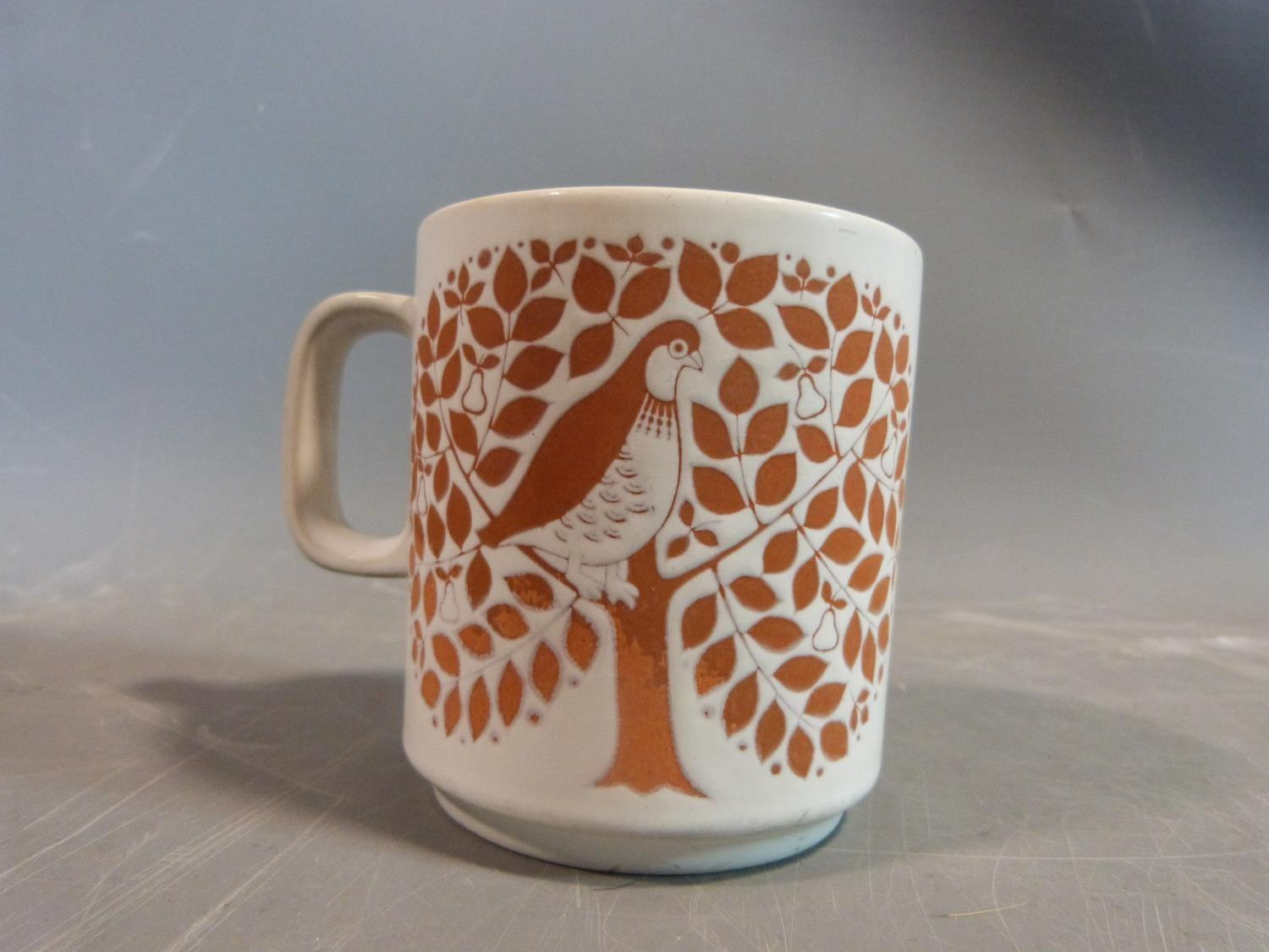 A collection of 1970's Hornsea mugs designed by John Clappison, a studio pottery vase and three - Image 5 of 22