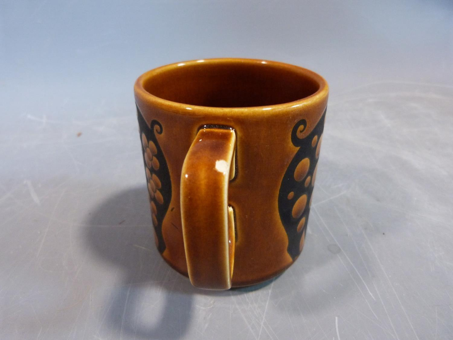 A collection of 1970's Hornsea mugs designed by John Clappison, a studio pottery vase and three - Image 10 of 22