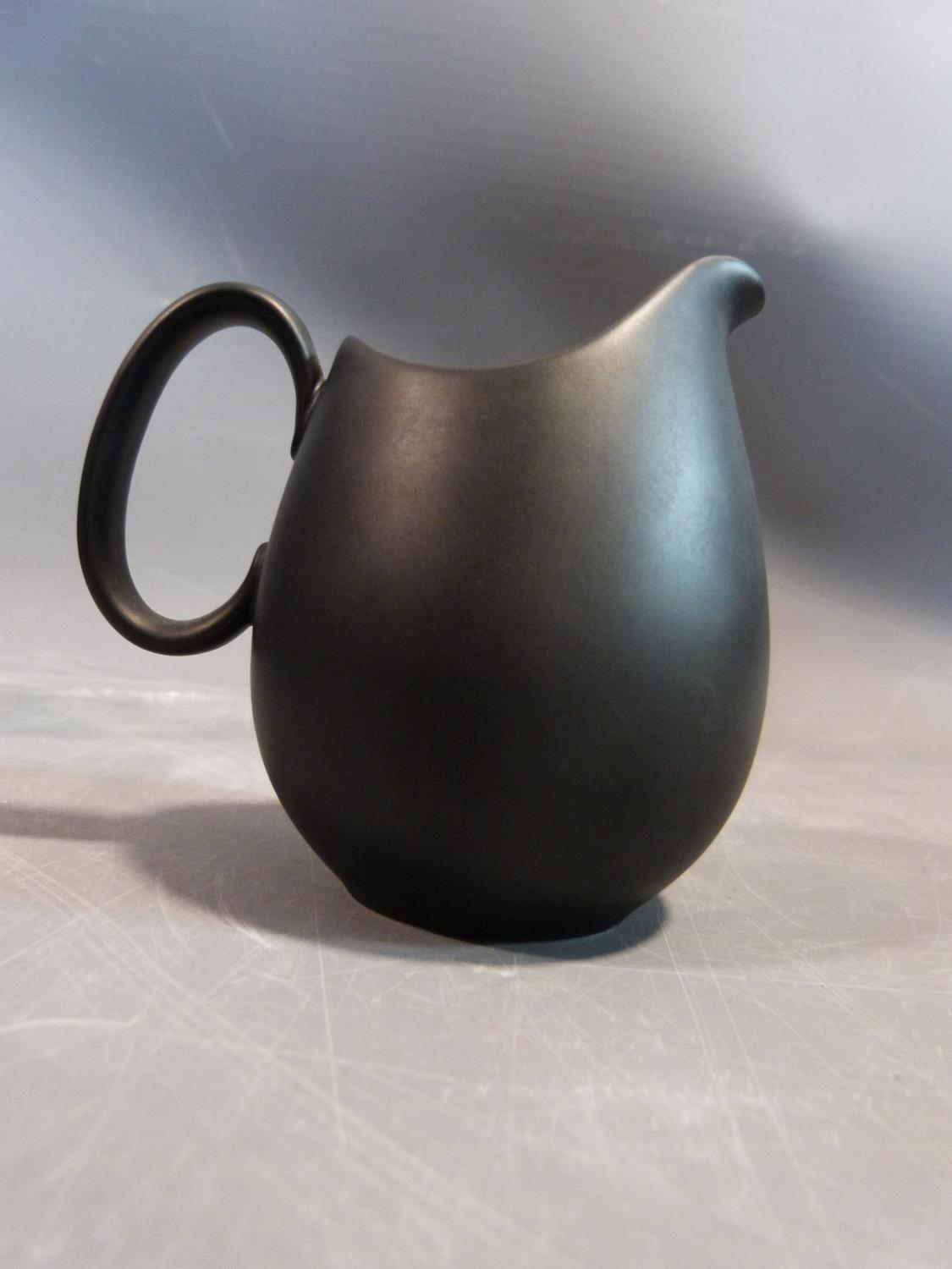 A Raymond Loewy 'Charcoal' Continental tea service. Tallest H12cm. - Image 2 of 12