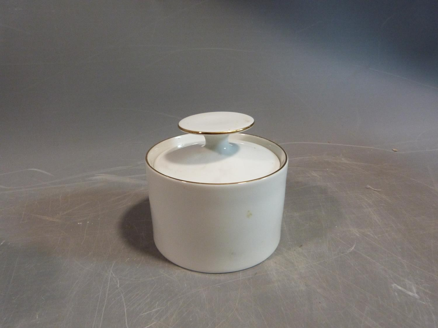 A white porcelain Thomas Germany gilded coffee set. H 22.5cm. - Image 5 of 9