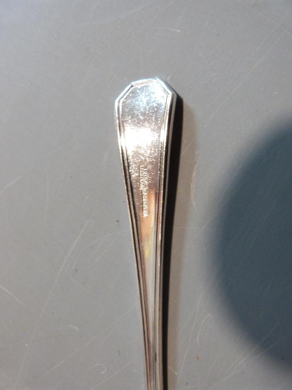 Five rolls of silver plated cutlery. Belvedere design by CJ Vander Ltd. Includes 18 cake forks, 18 - Image 3 of 6