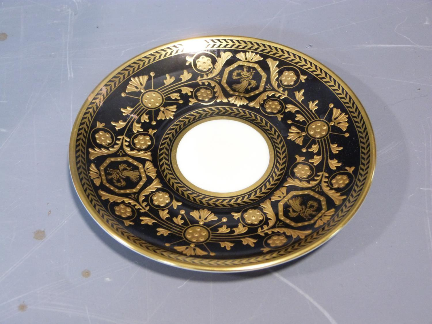 An early 20th century Wedgwood Black Astbury pattern part dinner service. This pattern is - Image 3 of 19