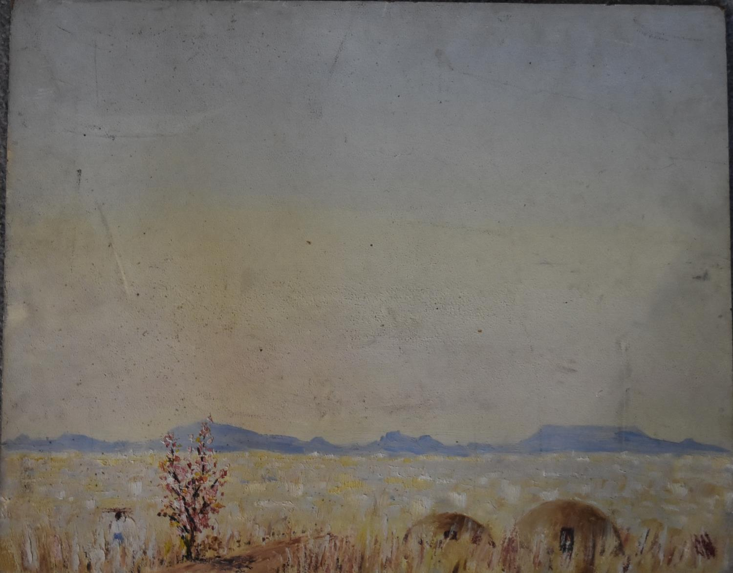 A collection of eight unframed watercolours. H.40x50cm (largest) - Image 7 of 14