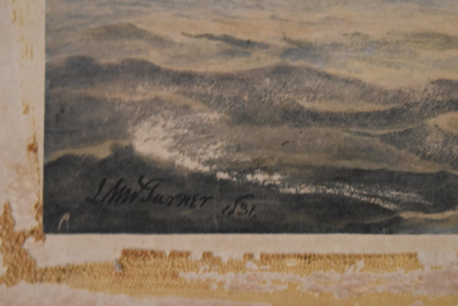 A collection of eight unframed watercolours. H.40x50cm (largest) - Image 11 of 14