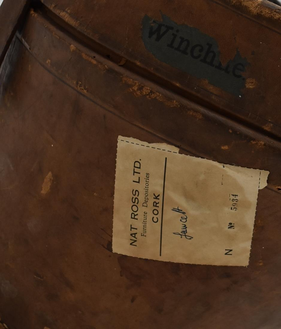 A silk top hat by Christy's London in fitted leather carrying case. H.30x35cm (box) - Image 2 of 8