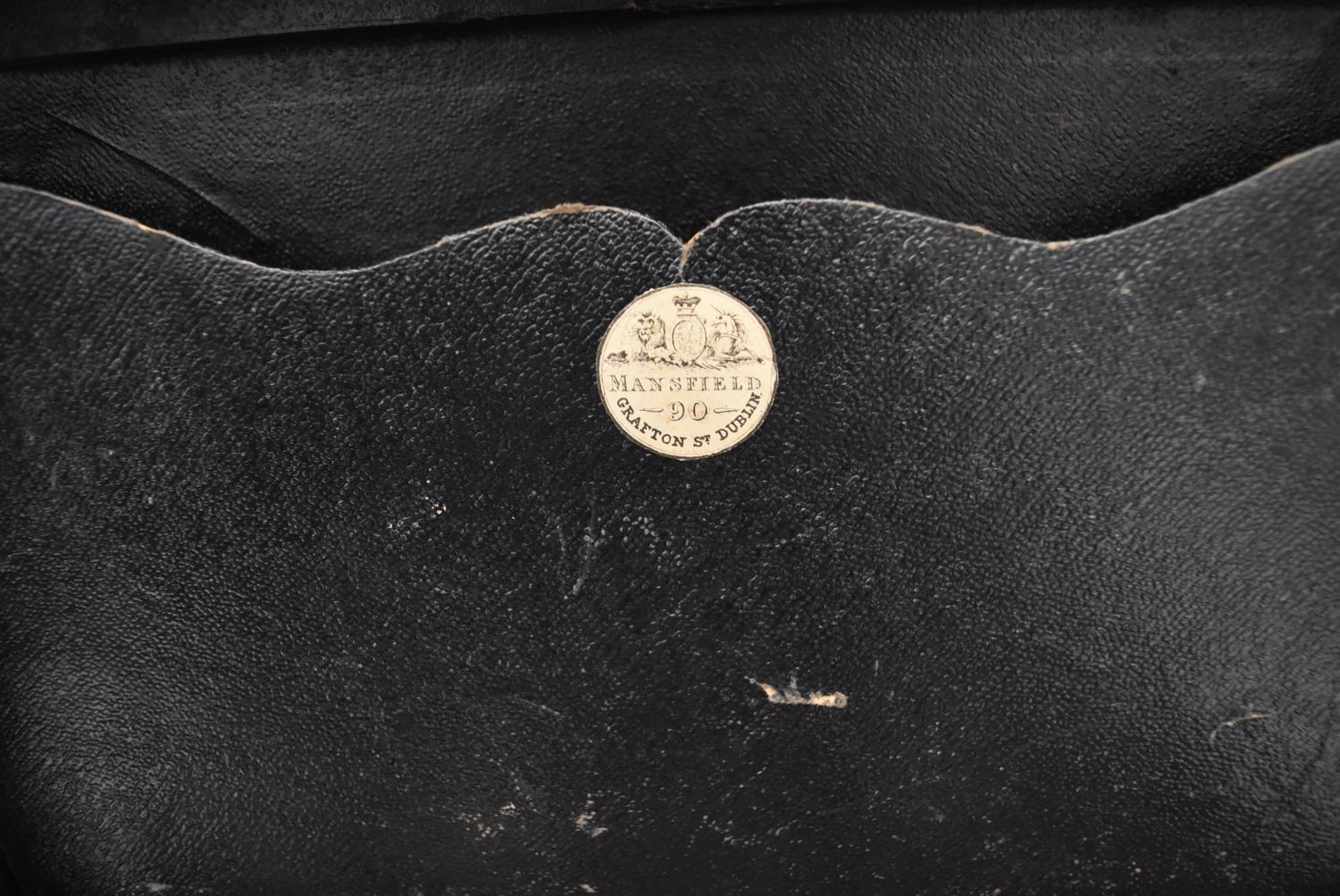 A 19th century burr walnut fitted vanity box (drawer missing) with mother of pearl shield shaped - Image 4 of 7