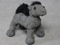 A Ross Bonfanti Horse c446, 2013 concrete, toy parts 22.9 x 22.9 x 12.7 cm 9 x 9 x 5 in (RB047)