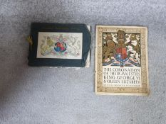 Two Royal commemorative programmes. One from the coronation of King George VI & Queen Elizabeth