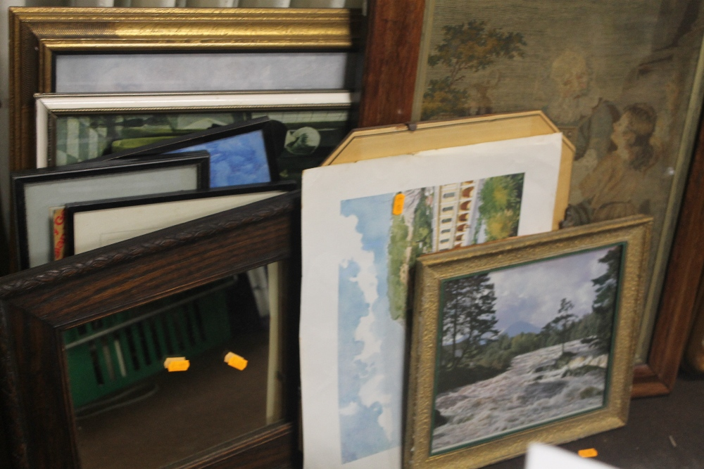 Lot 47 - A QUANTITY OF ASSORTED PICTURES, PRINTS ETC.