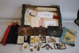 LOCAL INTEREST- A COLLECTION OF MASONIC MEDALS, JEWELS AND EPHEMERA, most relating to the Faith