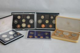 UK & COMMONWEALTH ROYAL MINT PROOF SETS, to include Cook Islands 1976 & British Virgin Islands