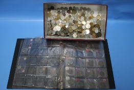 A QUANTITY OF ASSORTED WORLD COINS