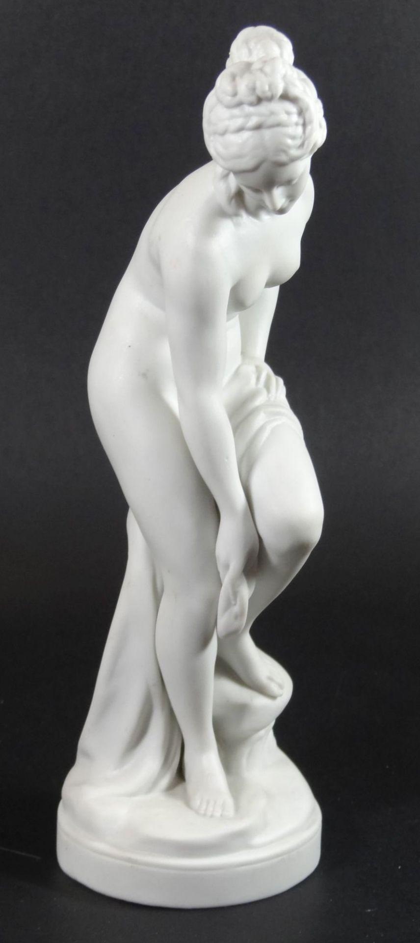 """Bisquit-Porzellanfigur """"Aphrodite"""", H-22 cm"""