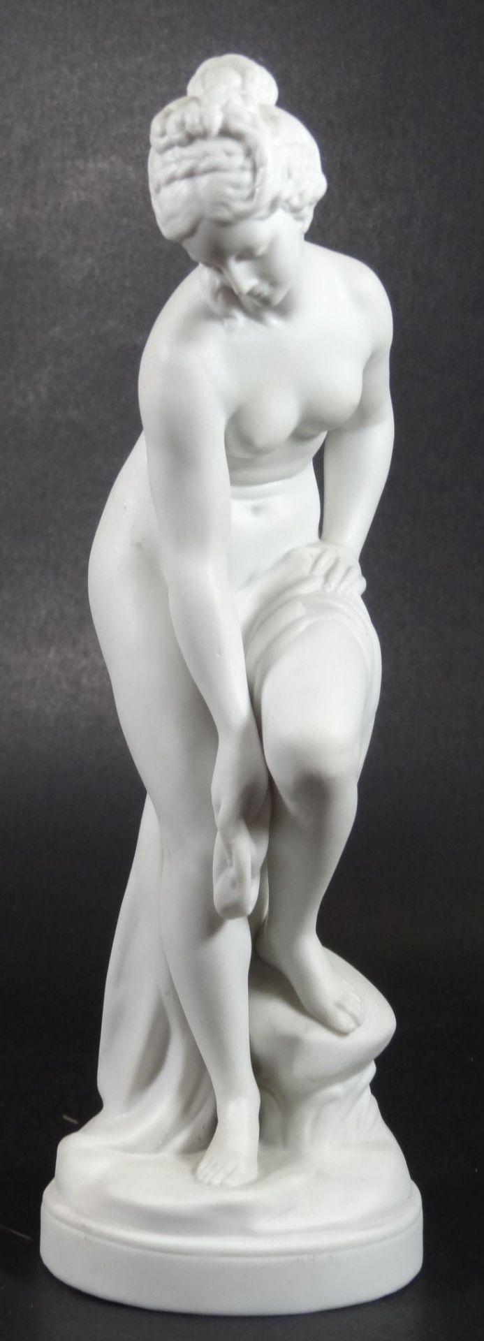 """Bisquit-Porzellanfigur """"Aphrodite"""", H-22 cm - Bild 2 aus 6"""