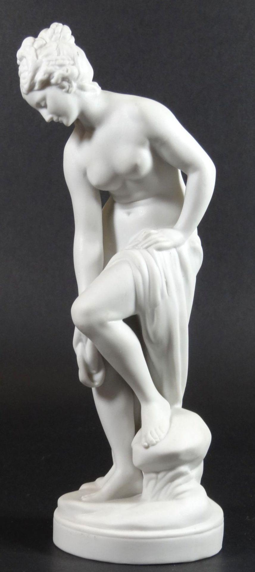 """Bisquit-Porzellanfigur """"Aphrodite"""", H-22 cm - Bild 3 aus 6"""