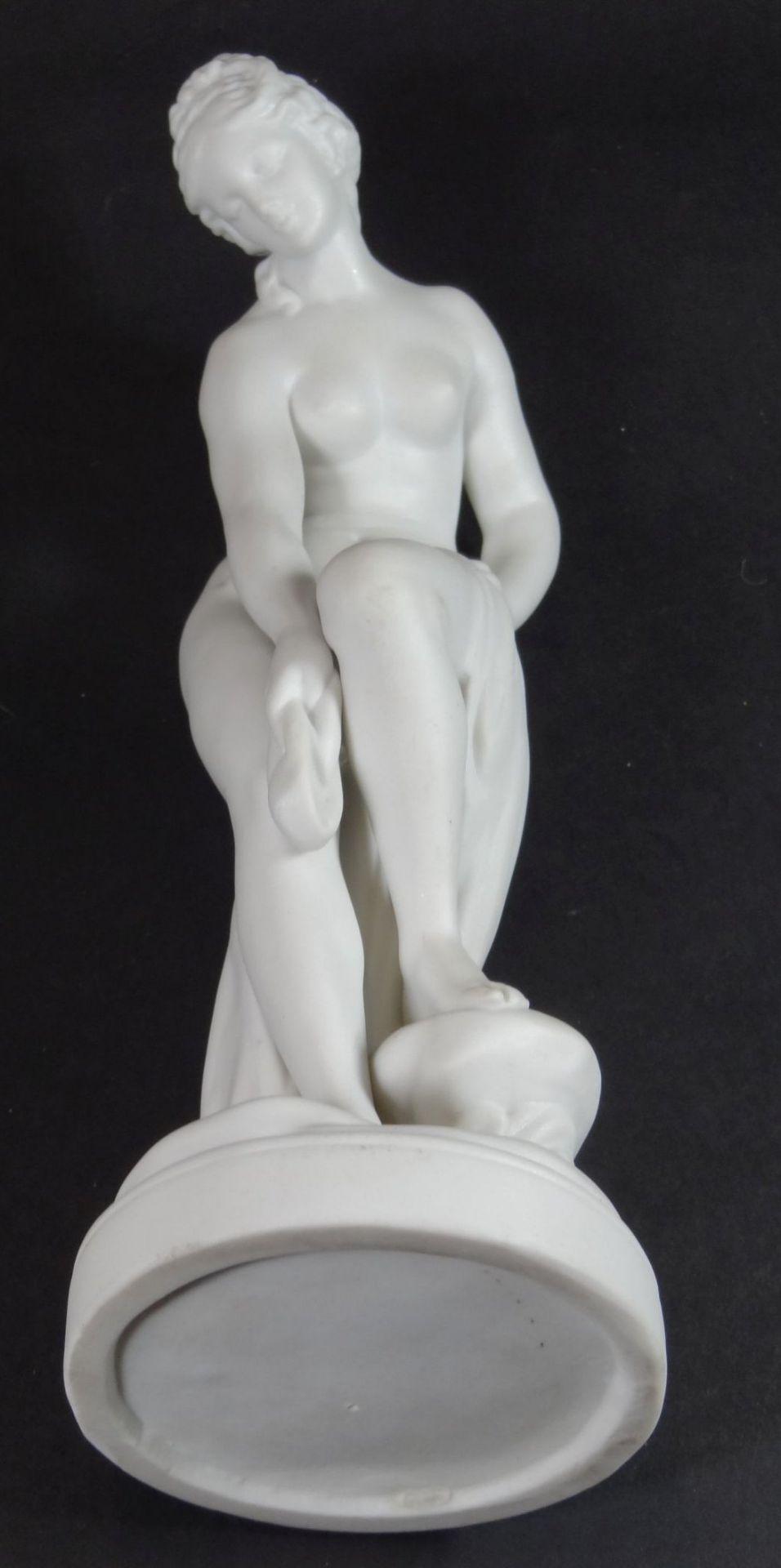 """Bisquit-Porzellanfigur """"Aphrodite"""", H-22 cm - Bild 6 aus 6"""