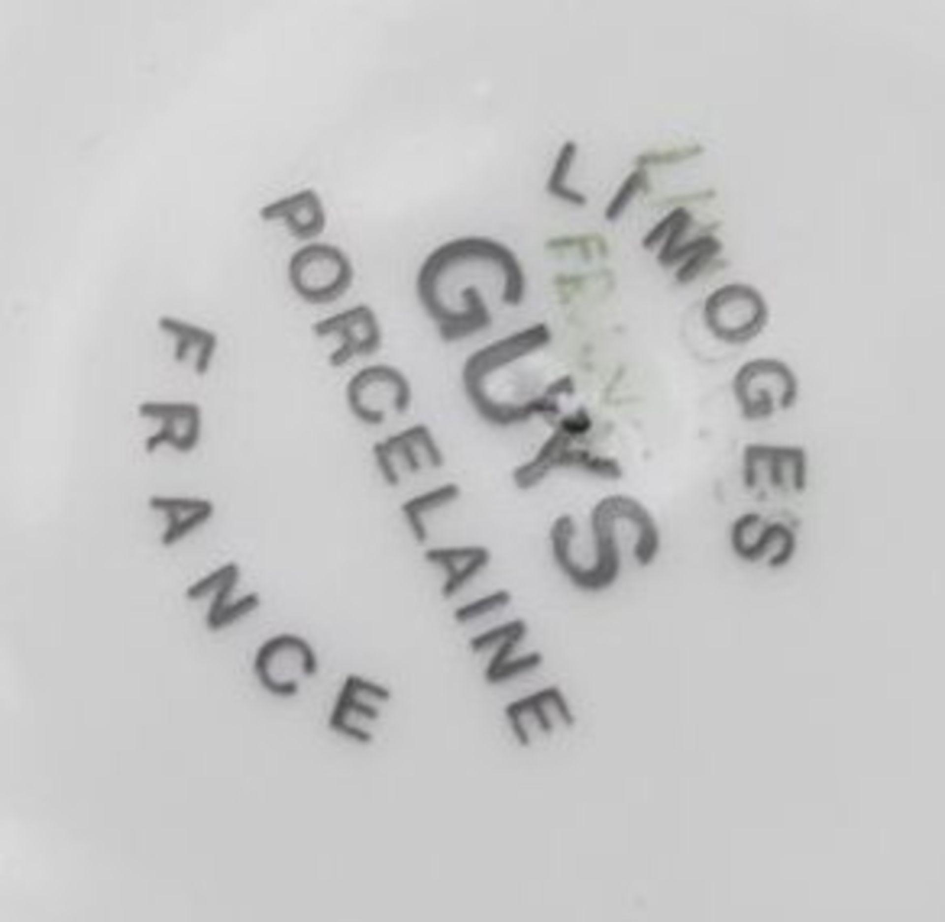 kl. Schale, Limoges, Frankreich, H-3,5cm. D-11cm - Bild 3 aus 3