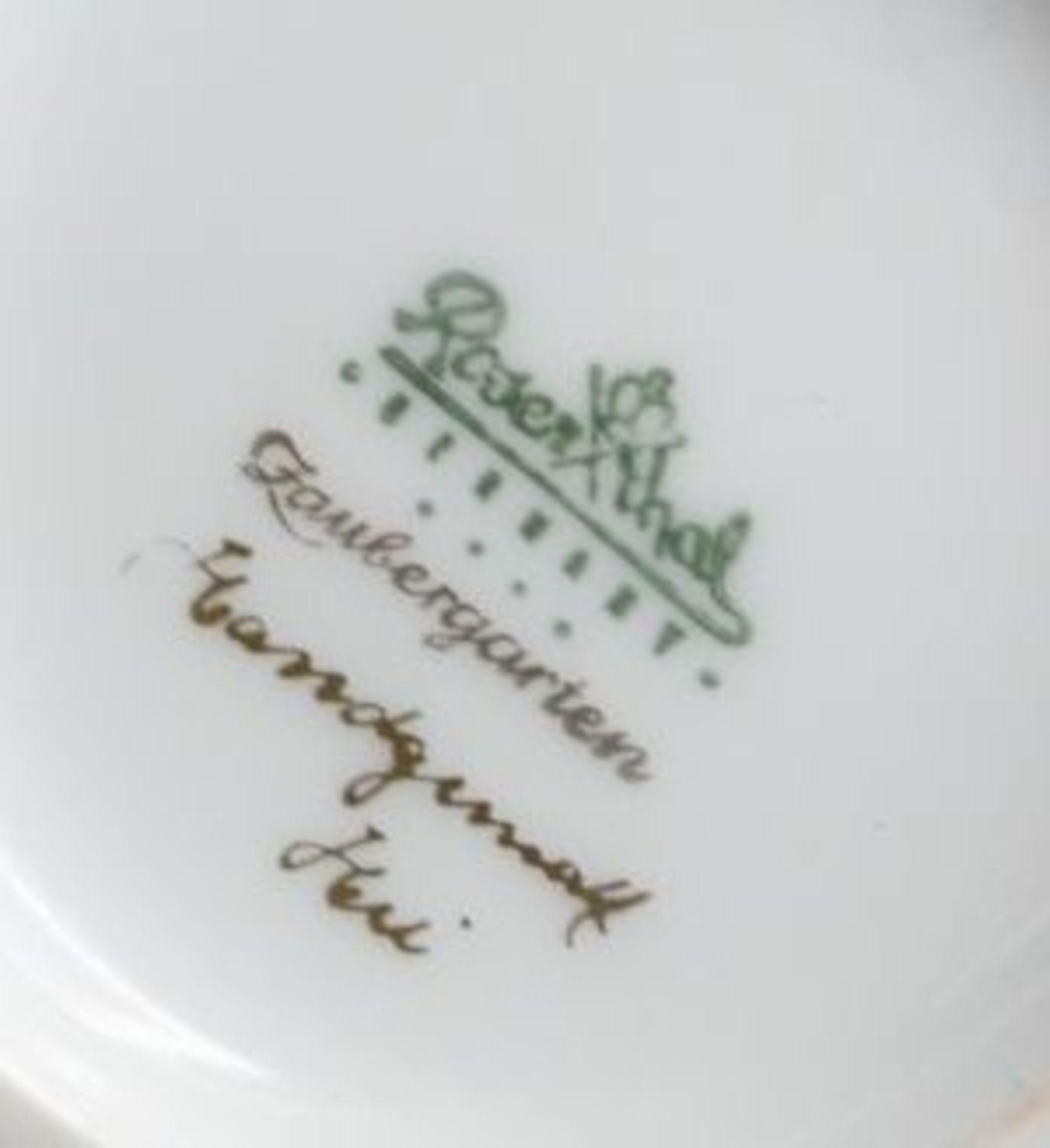 Los 1048 - Vase, Rosenthal, Zaubergarten, handbemalt, H-20,5cm.
