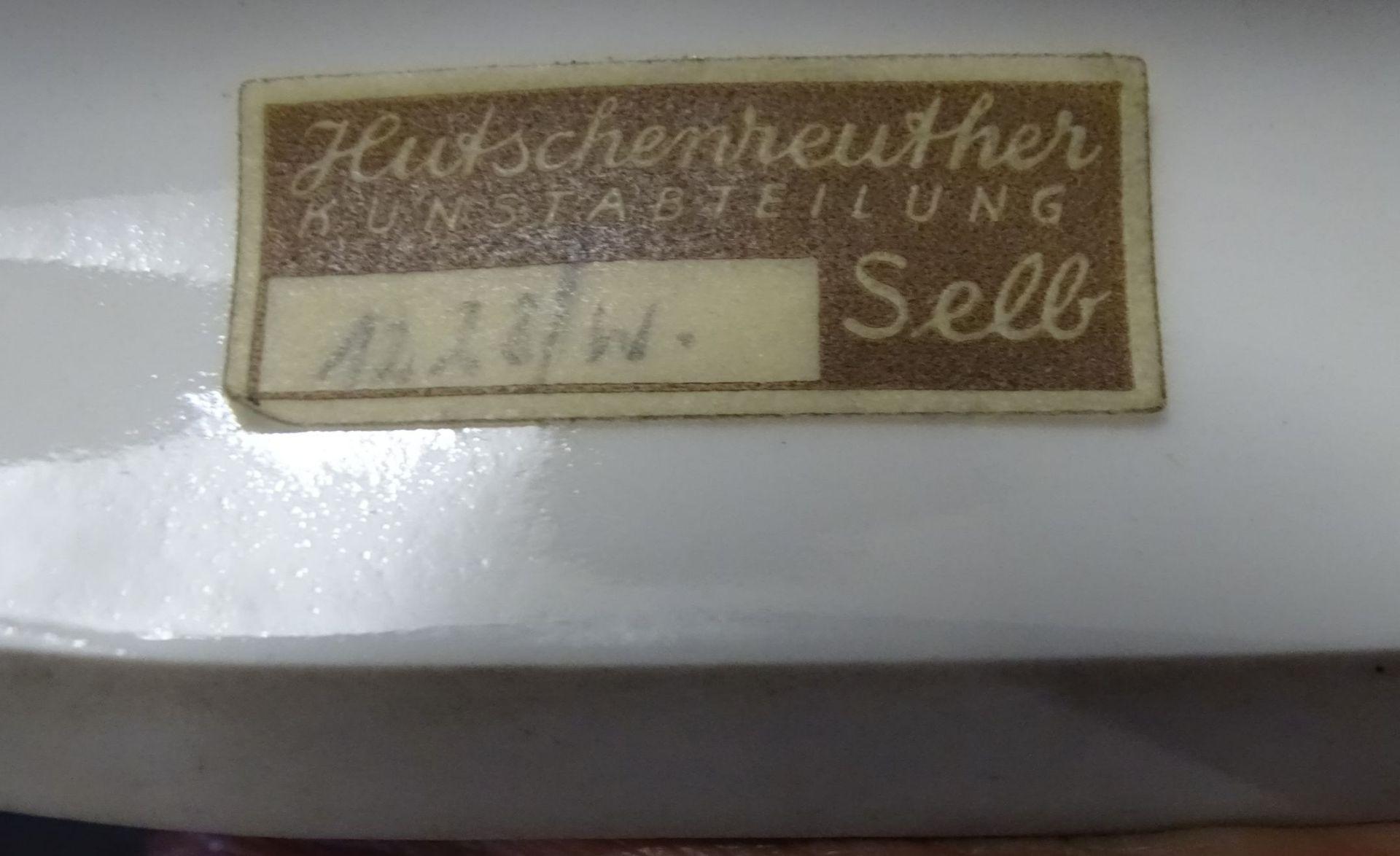 """Los 1020 - grosse Hutschenreuther Pferdegruppe"""" In Freiheit"""" Weissporzellan,, signiert M.H.Fritz,H-28cm,L-"""