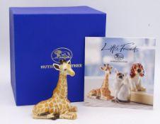 """Giraffenbaby """"Hutschenreuther"""",OVP,H-8,0cm"""