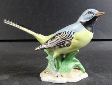 """Vogel """"Potschappel-Dresden"""" bunt bemalt, H-9 cm, L-14 cm"""
