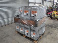 DOOSAN ISO VG 46 HYDRAULIC OIL 20L SYNTHETIC BASED, 20 L CONTAINERS (36 OF)