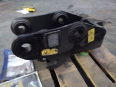 GEITH HYDRAULIC Q-HITCH TO FIT 45MM PINS TO FIT DOOSAN DX55 (YEAR 2015)