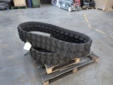 RUBBER TRACKS 230 X 96 X 33 (PAIR)