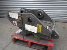 GEITH HYDRAULIC Q-HITCH TO FIT 70MM PINS TO FIT DOOSAN DX170W (YEAR 2011)
