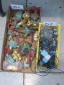 LOT - ASCO ASSTD ELECTRIC VALVES W/ MC VALVES