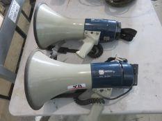 UNITS - MG- ELECTRONICS PGM-25MIC MEGAPHONES