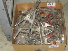 LOT - BESSEY HAND CLAMPS