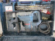 BOSCH 11240 ELECTRIC HAMMER DRILL W/ BITS + CASE